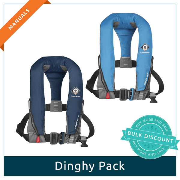 Dinghy Pack 2 x User Activated (MANUALS)