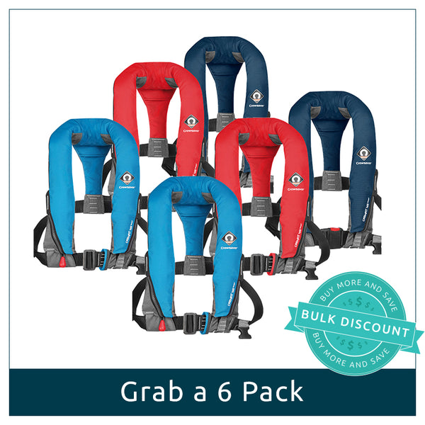 6 Pack User Activated | Manual Lifejackets