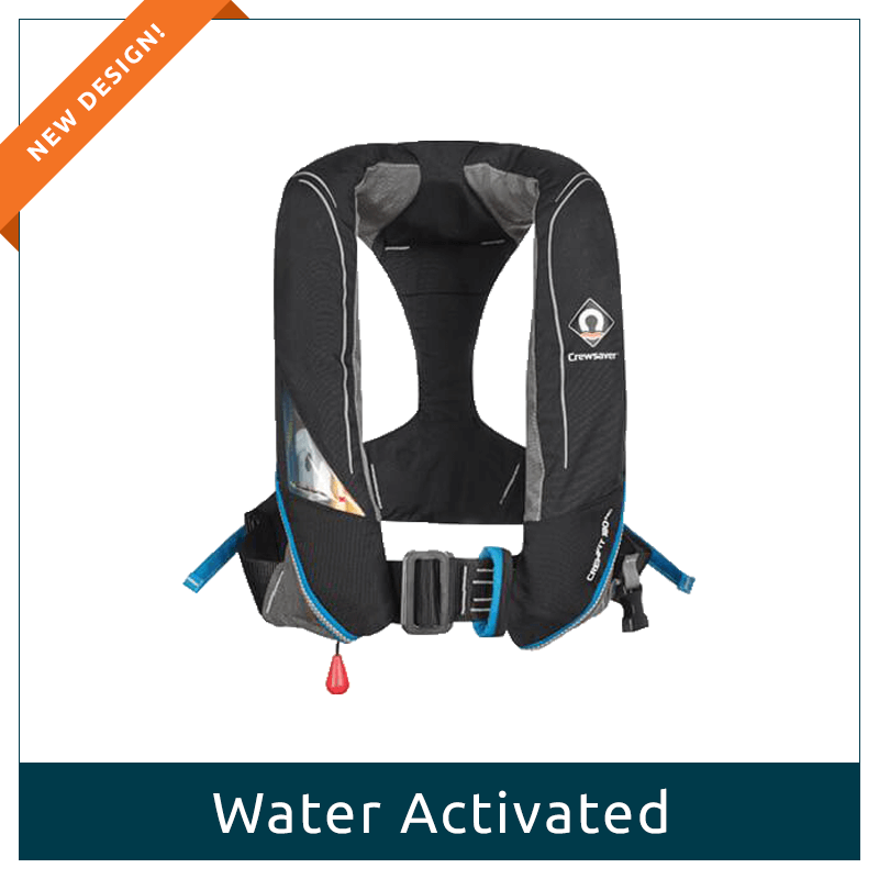 Adult Lifejacket - Water Activated 180N Pro