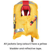 Yellow Lifejacket open