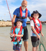 Family Pack (2 adult user activated lifejackets and 2 junior lifejackets)