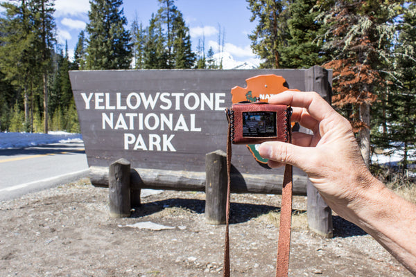 Exploring Yellowstone with a GoPro