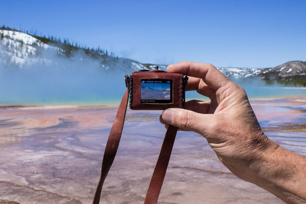 Grand Prismatic Spring GoPro Capture