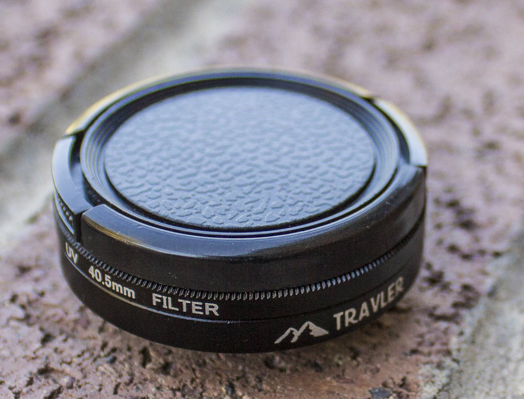 Lens Filter Adapter for GoPro® Go Travler Premium Travel Gear