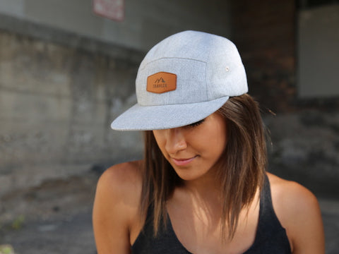 Travler Leather Patch Hat