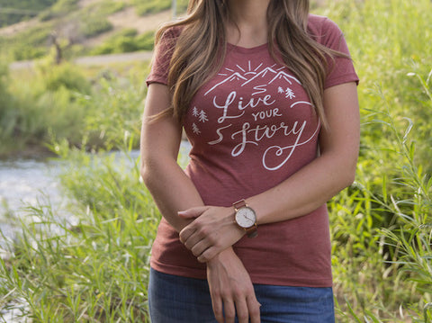 Live Your Story Women's Short Sleeve T-Shirt