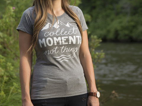 Collect Moments Women's Short Sleeve T-Shirt