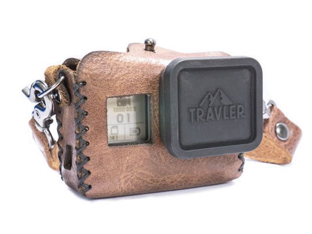 Handmade Leather Case for GoPro Hero 5 | 6 | 7 Go Travler Premium Travel Gear