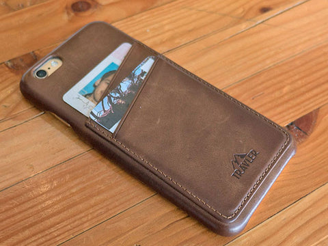 Premium Leather Phone Case - iPhone 6/7
