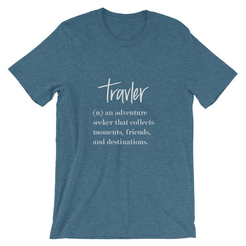 Travler Definition Men's Short Sleeve T-Shirt Lt. Grey