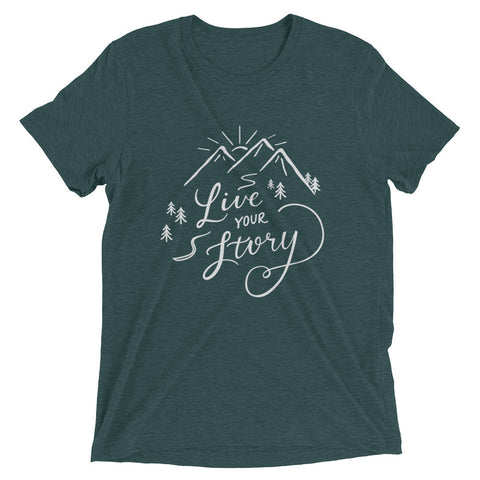 Live Your Story Men's Short Sleeve T-Shirt