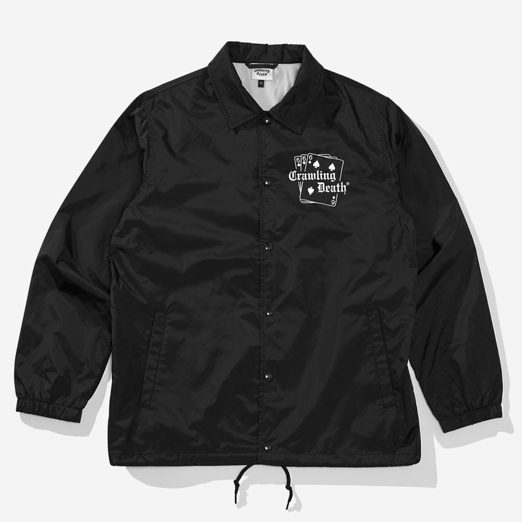 Cards Coaches Jacket - Black