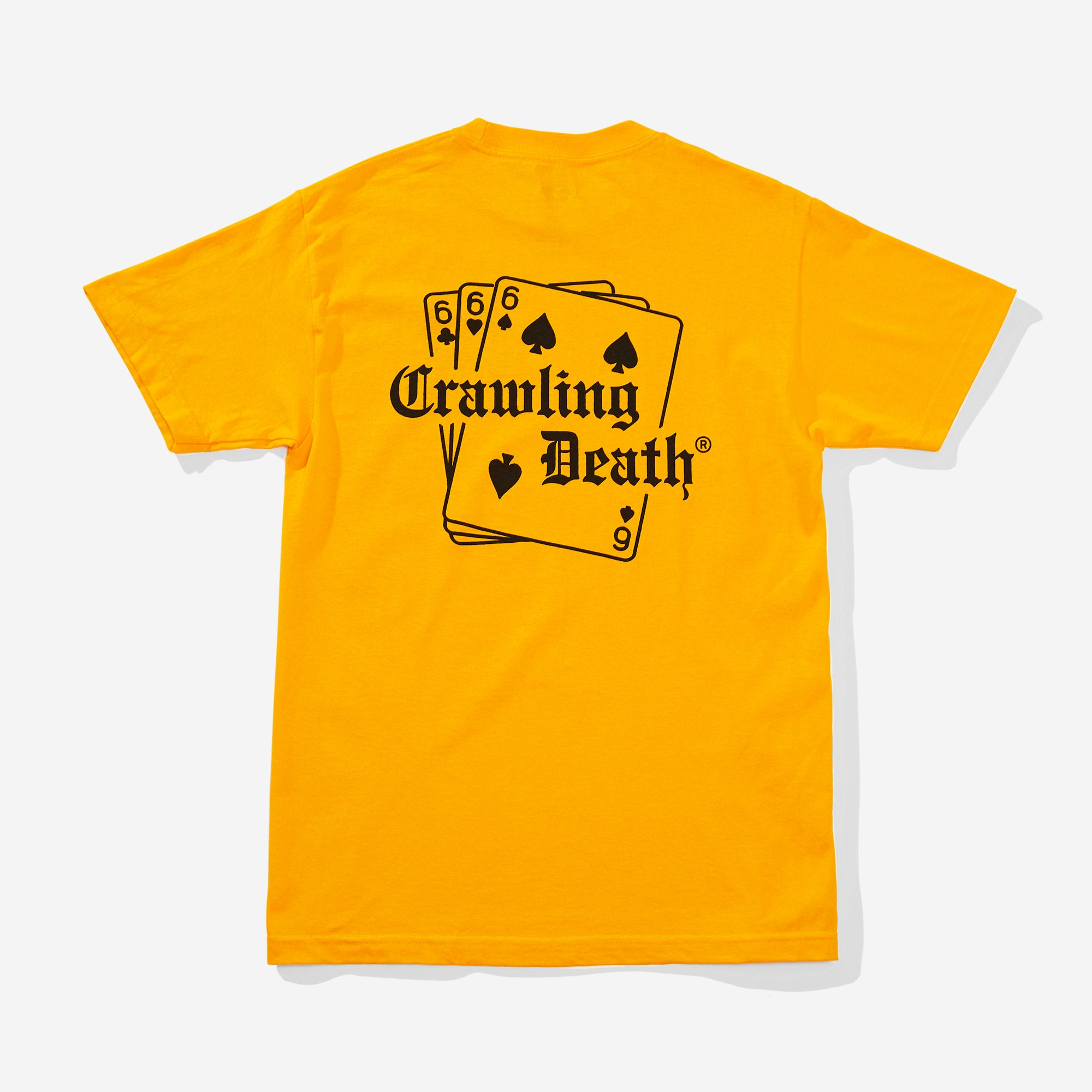 Cards T-Shirt - Gold
