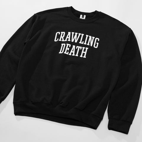 College Logo Crew - Black