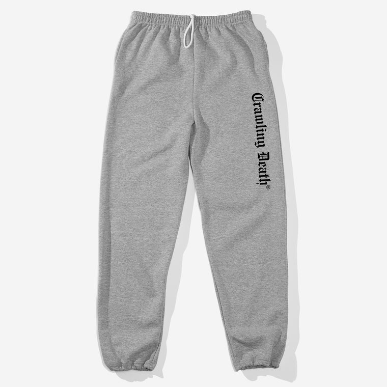 Gothic Logo Sweatpants - Grey
