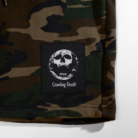 Earth Scream Label Shorts - Camo