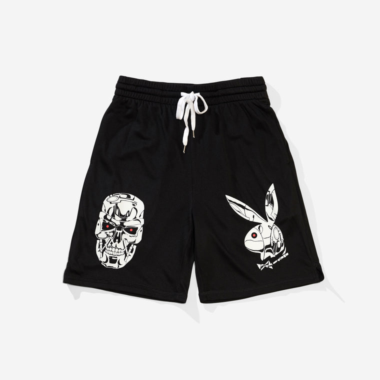 Metal Heads Shorts - Black