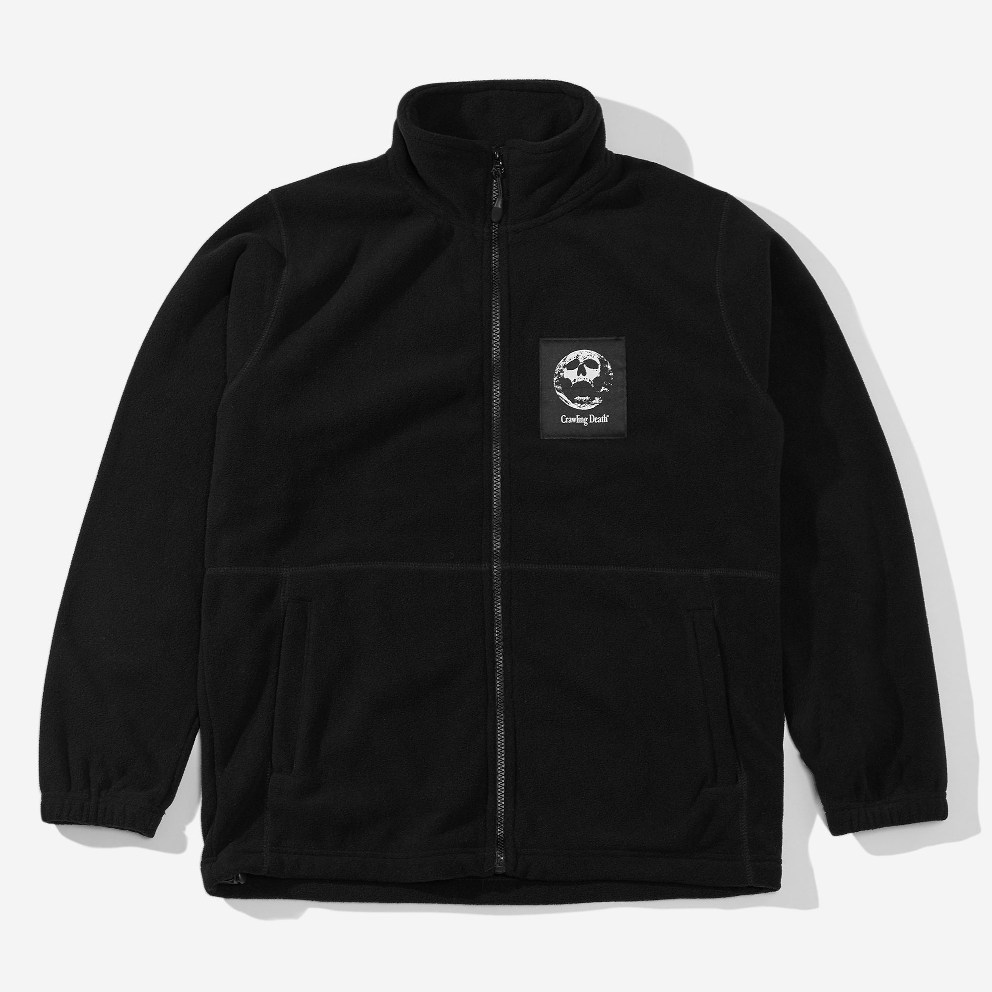 Polar Fleece Earth Scream - Black