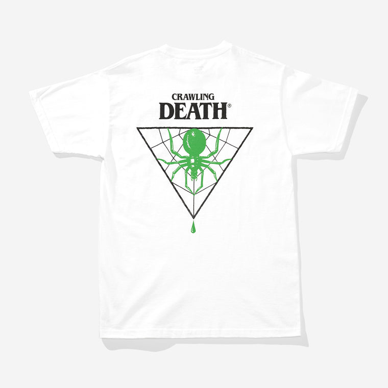 Triangle Spider Green - White