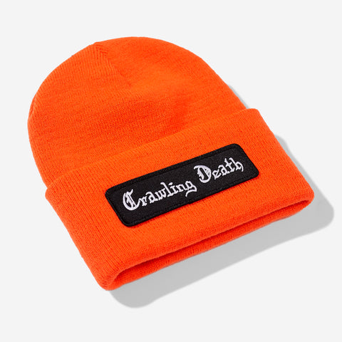 Death Script Beanie - Orange