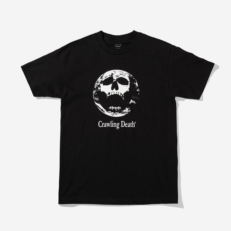 Earth Scream T-Shirt - Black