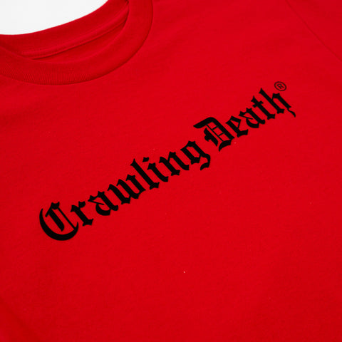 Gothic Logo T-Shirt - Red