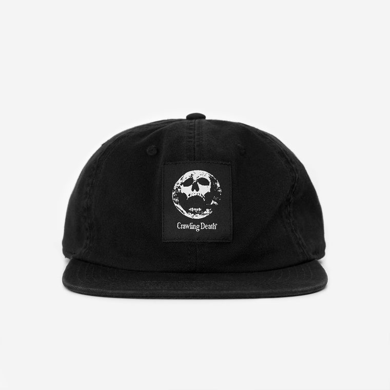 Earth Scream Label Cap - Black