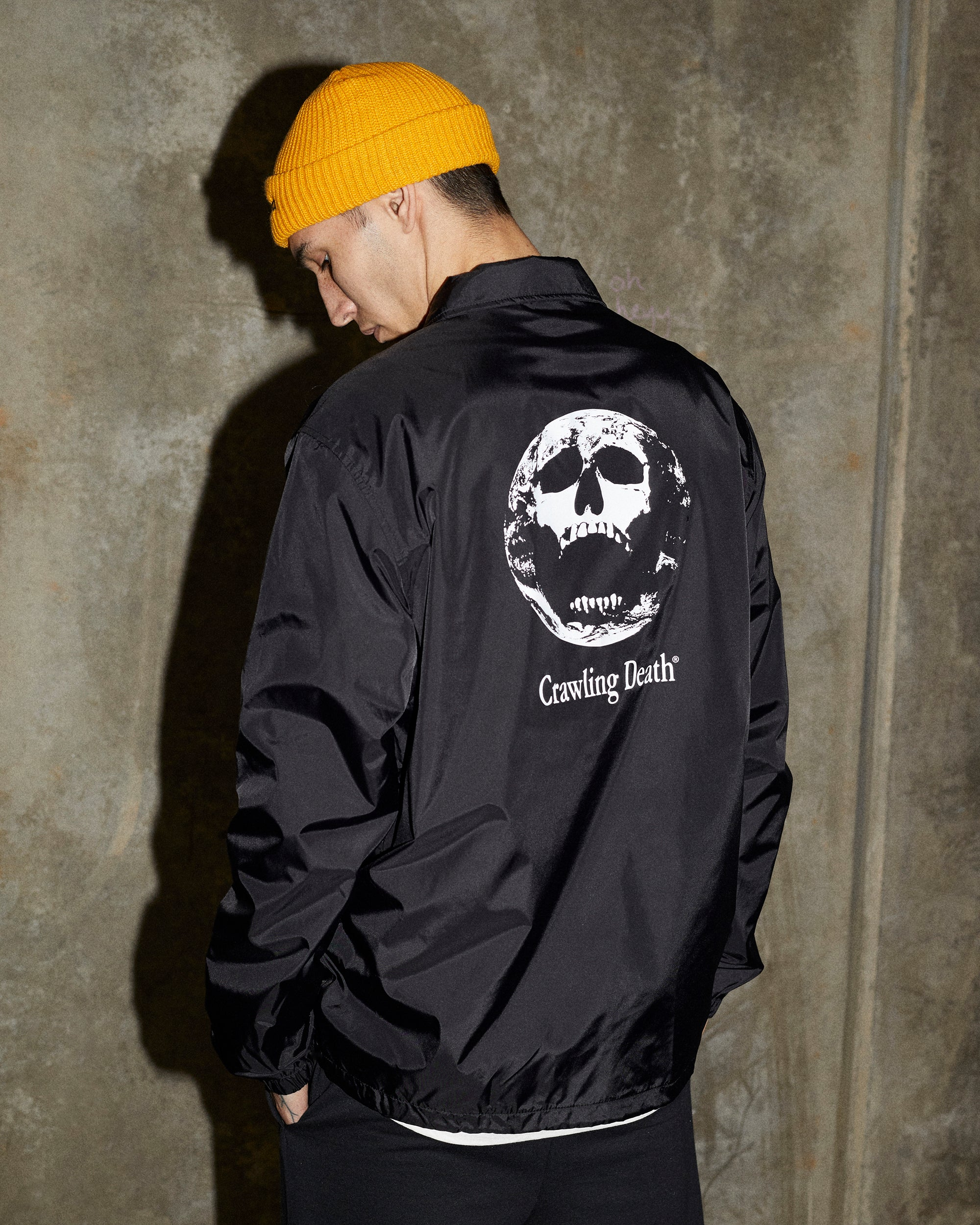 Earth Scream Coaches Jacket