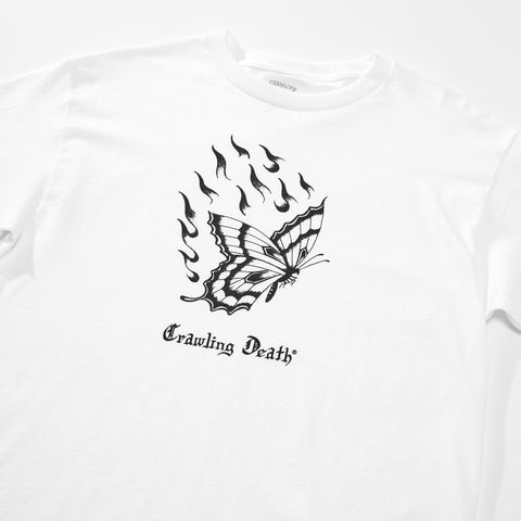 Spider Sinclair Butterfly T-Shirt - White