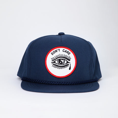 Don't Care Hat - Navy