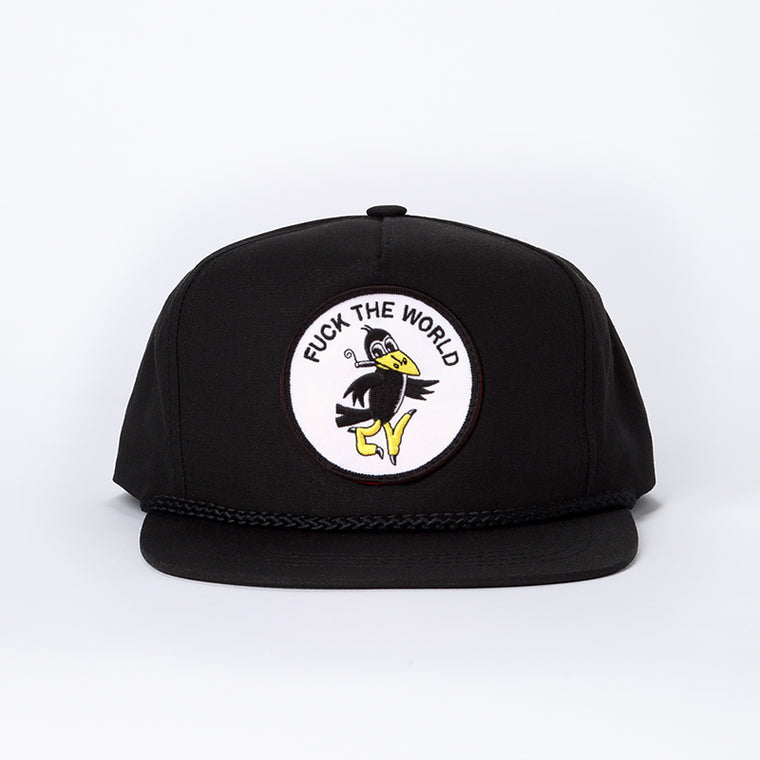 Fuck The World Hat - Black