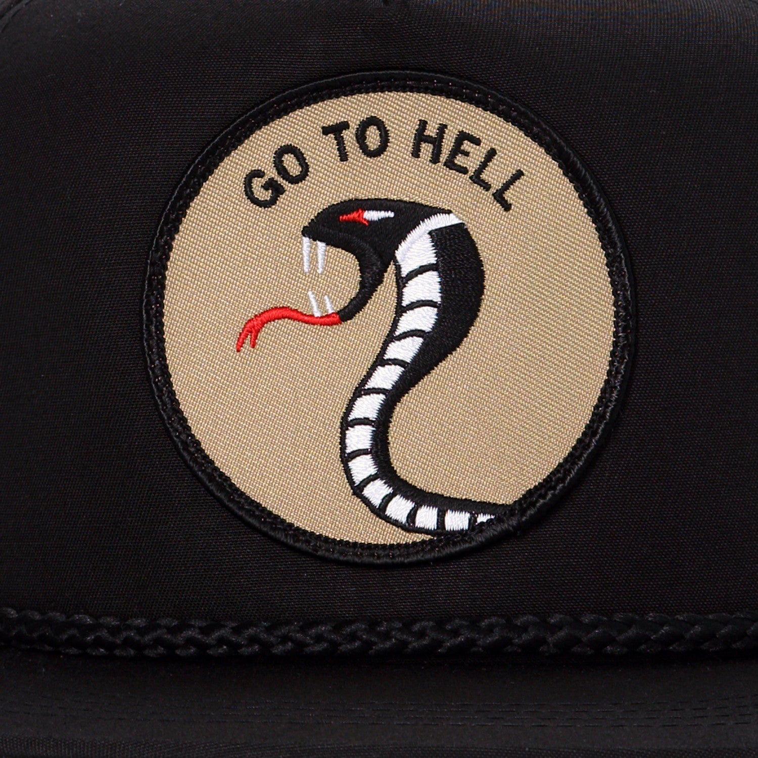 Go To Hell - Black
