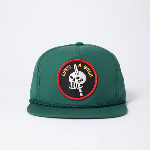 Life's a Bitch Hat - Green