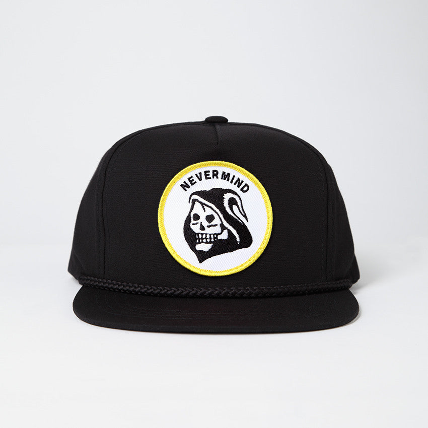 Nevermind Hat - Black