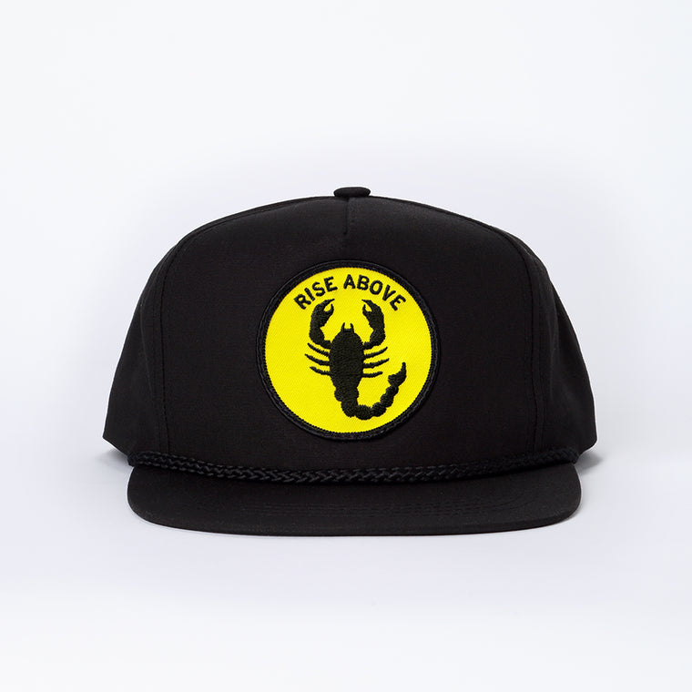 Rise Above Hat - Black