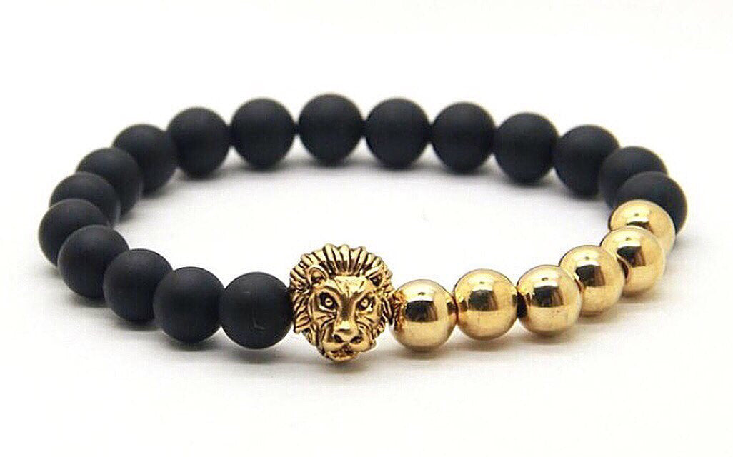 Gold Savannah x Matte Black Bracelet
