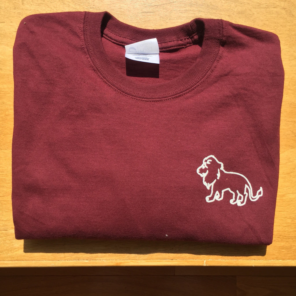 Savannah Maroon Long Sleeve T-Shirt