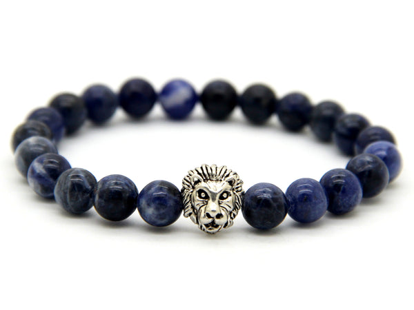 Savannah Blue Vein Stone Bracelet