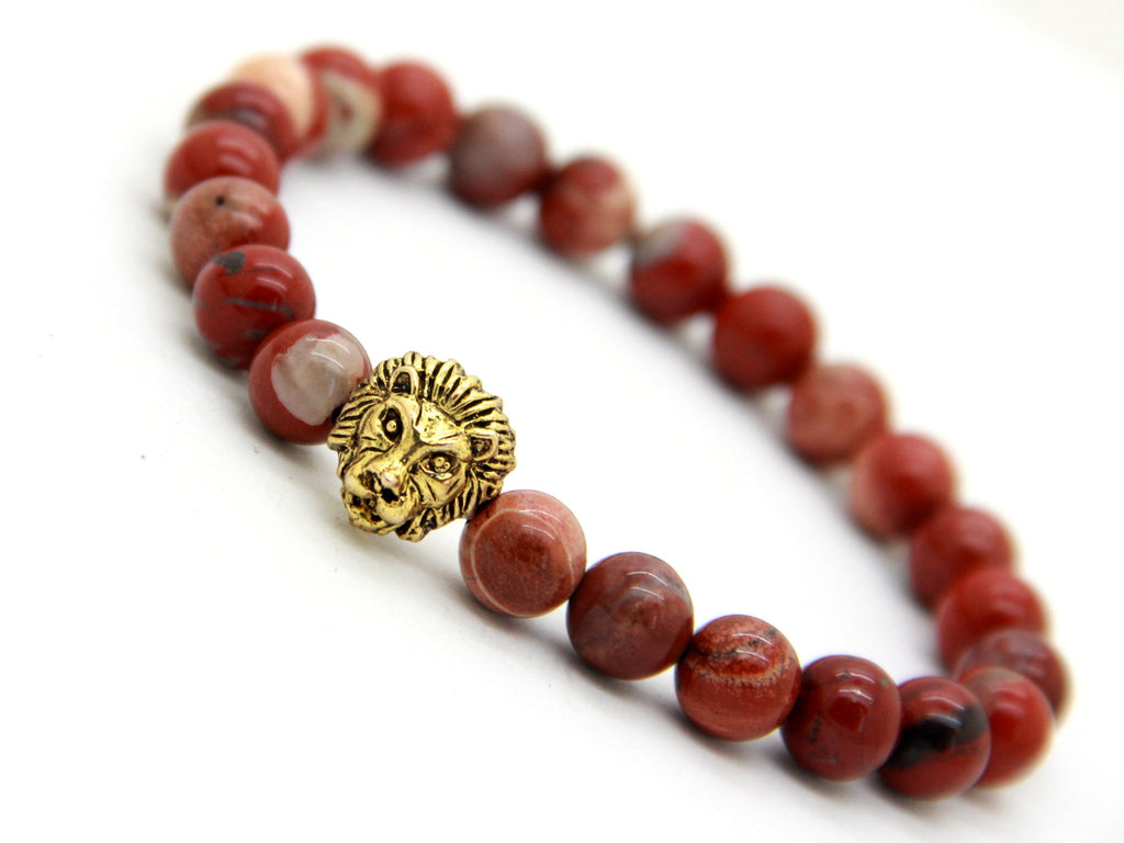 Savannah Red Marble Bracelet