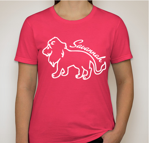 Women's Savannah Pink T-Shirt