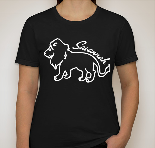 Women's Savannah Black T-Shirt