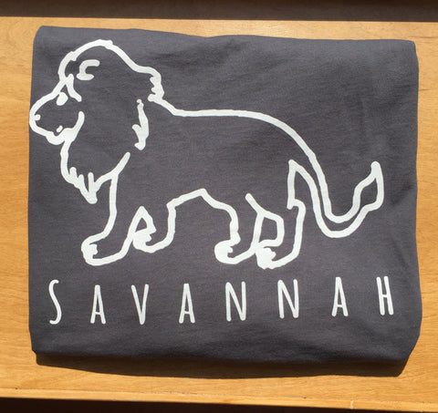 Savannah Grey Long Sleeve Pocket Tee