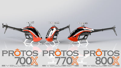 Protos 700X/770X/800X Evoluzione (Kit only version-no Brain2)