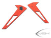 Vertical Tail Fin Stickers Red/Yellow - Protos 380 [MSH41228, MSH41229]