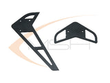 Carbon Fiber Fin Set - Protos 500 [MSH51094]