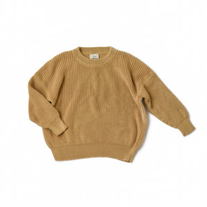 Plantain Boxy Knit Sweater