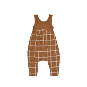 Double Grid Bubble Romper
