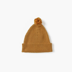 Golden Knit Beanie