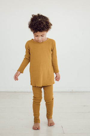 Mustard Thermal Legging