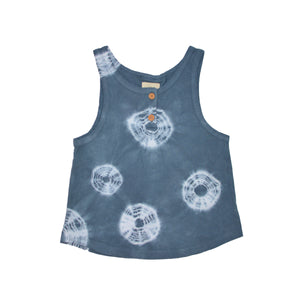 Indigo Wash Tank Top